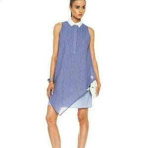 Band of Outsiders Blue & White Pinstripe Dress